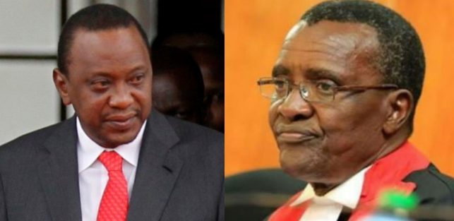 """Impeach him"" Maraga now tells parliament after hitting on Uhuru"
