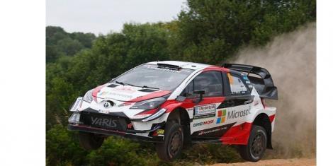 A WRC Toyota Yaris
