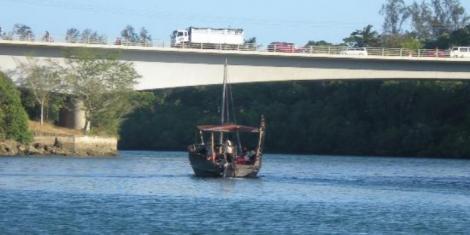 Mtwapa bridge in Mombasa county