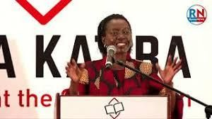 Martha Karua during the launch of the Linda Katiba Movement on February 1, 2021.