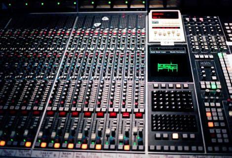 An image of an audio mixer