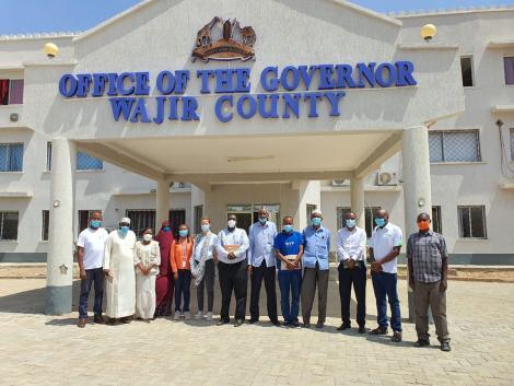 Wajir County Government headquarters