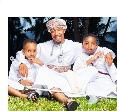 Citizen TV News Anchor Rashid Abdalla and his sons