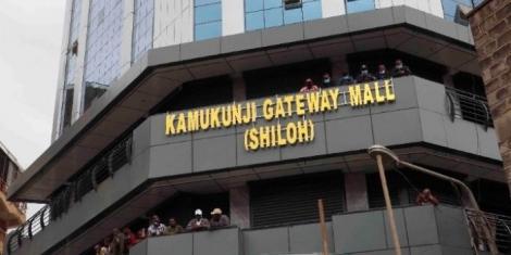 Kamukunji Gateway Mall.