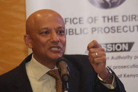 Ethics and Anti-Corruption Commission CEO Twalib Mbarak.