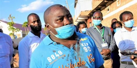 Pius Mugambi, a teacher at Oldonyiro Secondary School in Isiolo County,