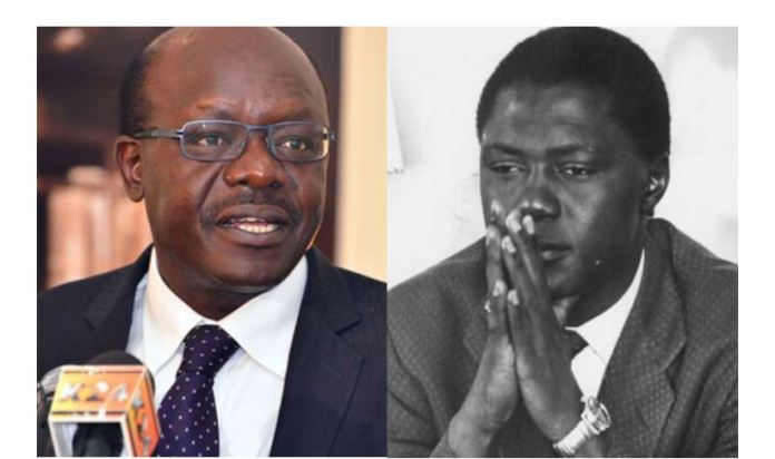 ..so much for Mukhisa Kituyi to learn from the late Tom Mboya, a lonely competent leader with no ground troupes