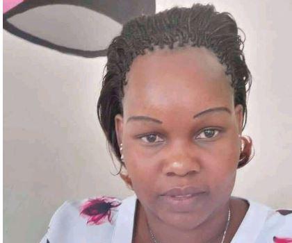 File image of wanted police officer Caroline Kagongo