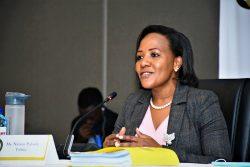 IEBC Selection panel grills Vibrant Naisiae Paloshe Tobiko for commission top job