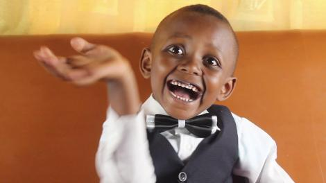 Elias Muthomi, little boy who can name 16 types of planes and their parts