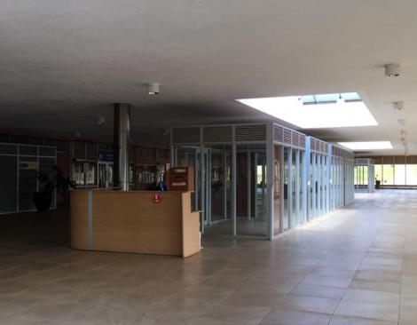 An Image of Stalls Inside Isiolo International Airport.