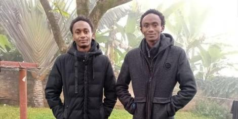 A file image of two brothers who died under mysterious circumstances in Embu County.