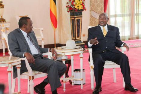 Uhuru and Museveni