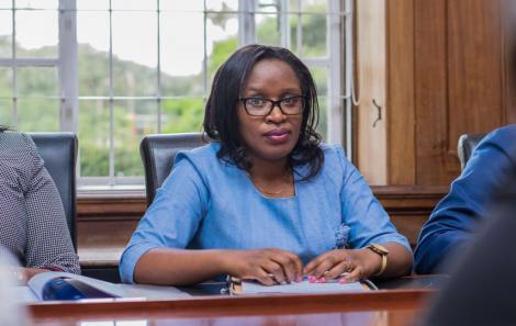 LSK Chief Executive Officer (CEO) Mercy Wambua.