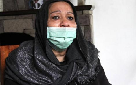 Hayat Akasha, widow to the late drug baron, Ibrahim Akasha Abdalla, during an interview on Monday, August 16, 2021