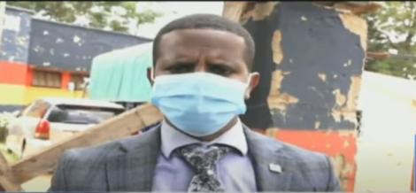 Kanduyi Assistant Commissioner Abdi Shakur Speaking to NTV on August 16, 2021.
