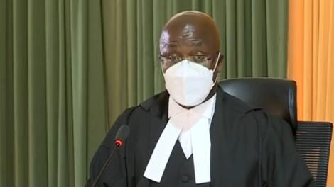 Court of Appeal Judge Justice Patrick Kiage at the Milimani Law Courts on August 20, 2021