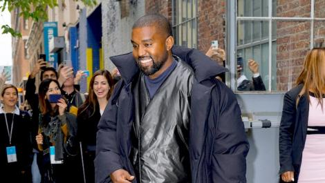 An undated file image of Kanye West at a past event