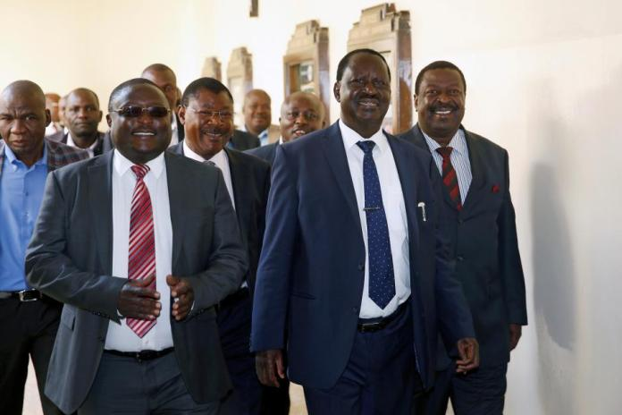 Mudavadi and Wetangula have no chance, the ONLY Luyha to face DP Ruto is Raila the 13th grandson of Nabongo