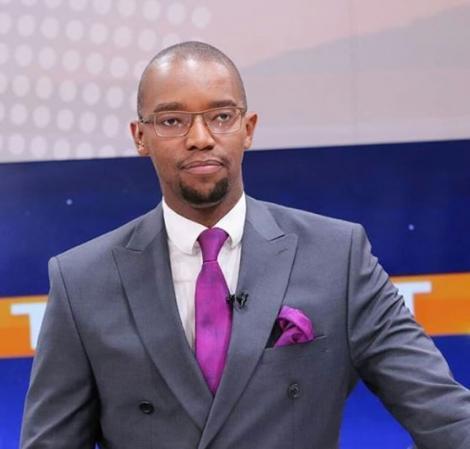 File image of Citizen TV anchor Waihiga Mwaura
