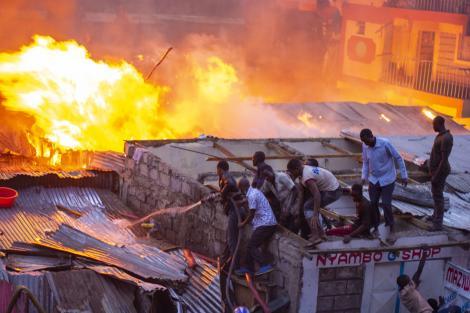 An image of Shauri Moyo fire