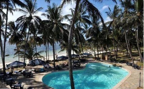 Dolphine hotel in Shanzu, Mombasa County.