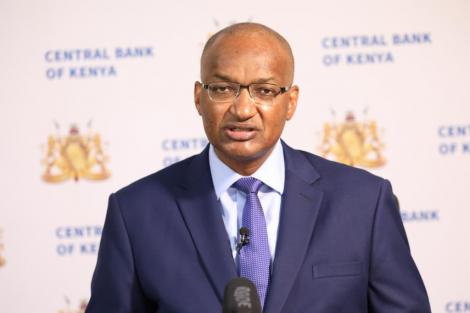 CBK Governor Patrick Njoroge speaking at the MPC May Conference