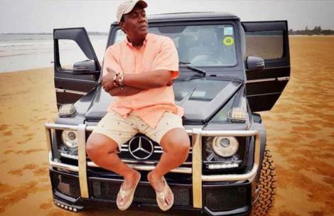 Citizen TV anchor Jeff Koinange on his Mercedes Benz G Wagon