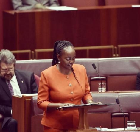 Lucy Gichuhi is a Kenyan-born Australian who served as a Senator for South Australia from 2017 to 2019