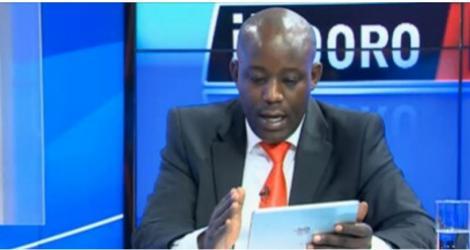 Inooro TV anchor Kamau wa Kang'ethe