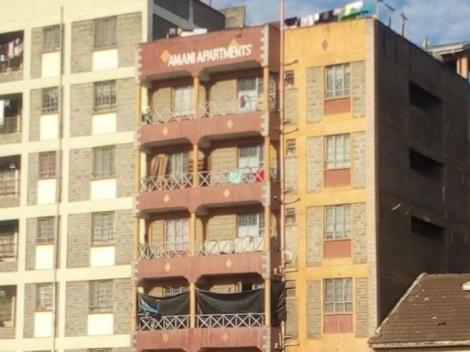 An Undated Image of Amani Apartments