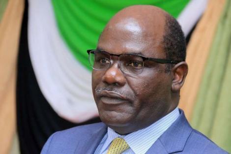 Independent Electoral and Boundaries Commission (IEBC) chairman Wafula Chebukati.