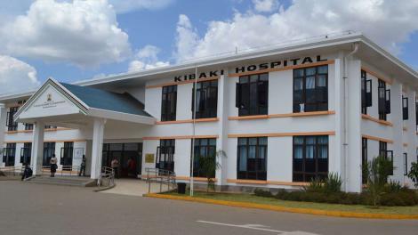 A File Image of Mama Lucy Kibaki Hospital.