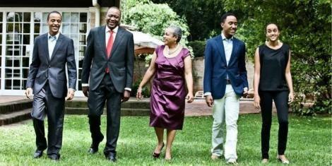 President Uhuru Kenyatta's familiy