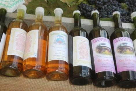 Bottles of wine from the Mukululu winery owned by the Catholic Church at Igembe Central in Meru County