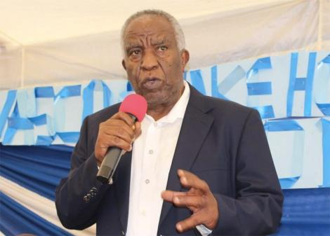 Peter Munga, Mt Kenya Foundation Chairperson Speaking During a Past Event