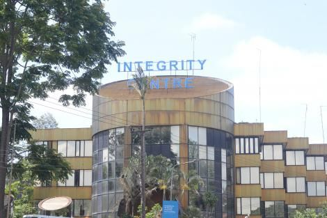 Ethics and Anti-Corruption Comission (EACC) Offices at Integrity centre Building in Nairobi. Monday, 18 November 2019.