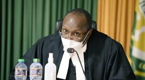 Justice Francis Tuiyott during the BBI ruling at the Court of Appeal on August 20, 2021