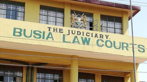 An undated photo of the Busia high court.