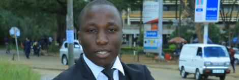 An undated photo of investigative reporter Brian Obuya