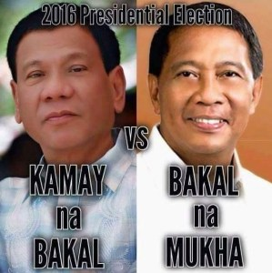 Duterte vs Binay
