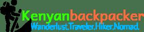 Kenyan Backpacker Travel Blog Main Logo