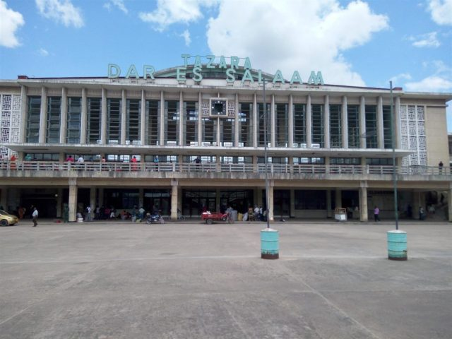 TAZARA Trains - Dar es Salaam station