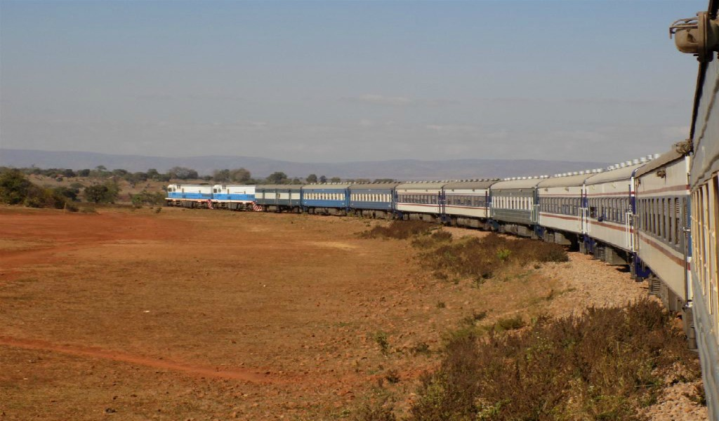TAZARA Trains - Trains from Dar es salaam to New Kapiri Mposhi Zambia