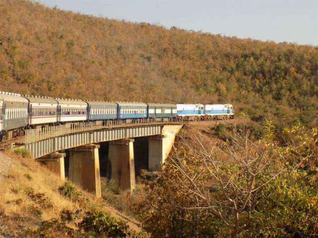 TAZARA Trains - Kilimanjaro Ordinary train
