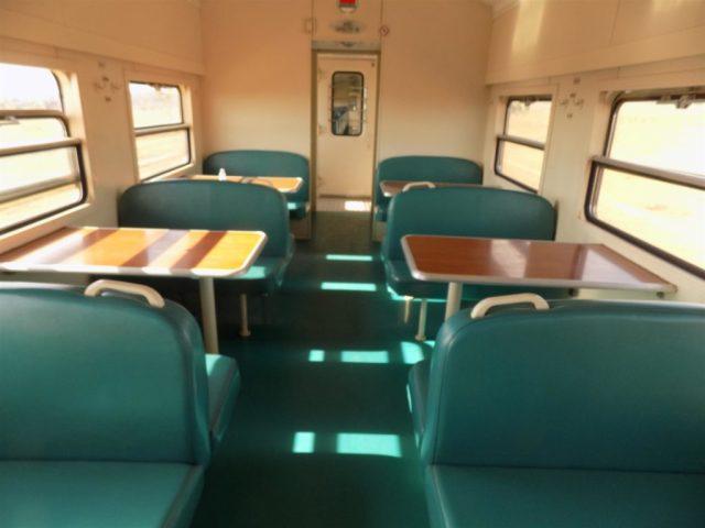 TAZARA Trains - Mukuba Express cabin