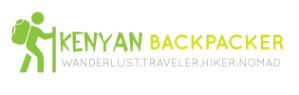 Kenyan Backpacker Travel Blog - Logo