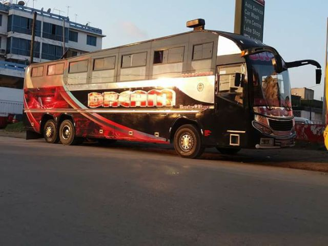 Traveling by bus in East Africa- Dream