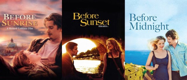Travel movies - Before Sunrise Sunset Midnight Travel Movie Jesse