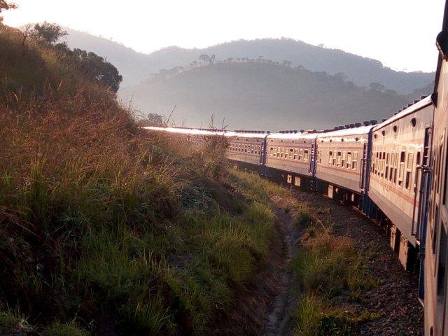 Best Travel Photos of 2017 - Mukuba Express Train Zambia